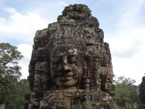 Kambodscha-Bayontempel