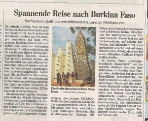 Saarbrücker Zeitung Reiseblog von Autorin Beatrice Sonntag