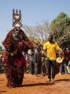Maskenfest der Bwa in Boni
