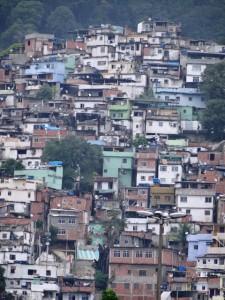 Favelas von Rio