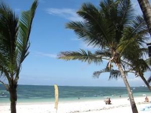 Strand bei Mombasa