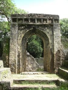 Ostafrika Ruine