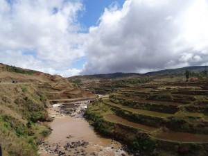 Landschaft bei Antsirabe