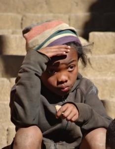 Kind in Fianarantsoa