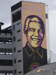 Mandela Johannesburg von Beatrice Sonntag