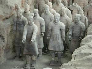 Beatrice Sonntag, Reisebericht aus Xian