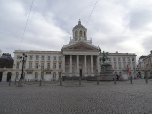 Palast in Brüssel Reiseblog von Autorin Beatrice Sonntag
