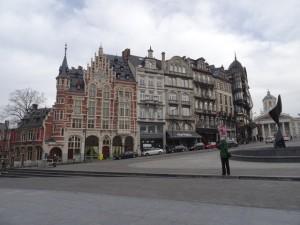 Fassaden in Brüssel