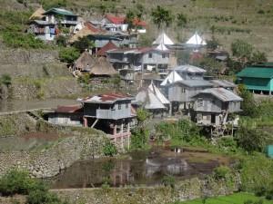 Das Bergdorf Batad auf Luzon
