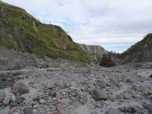 Aufstieg zum Mount Pinatubo