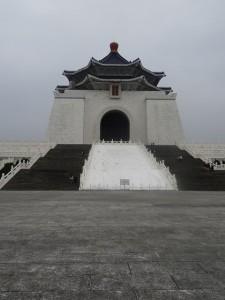 Beatrice Sonntag in Taipeh, Chiang Kai Shek Memorial