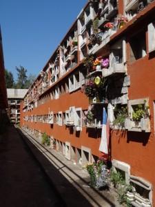 Gräber in Santiago de Chile