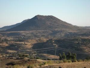 Landschaft Nord Äthiopien