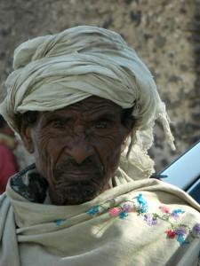 Äthiopier in Gondar