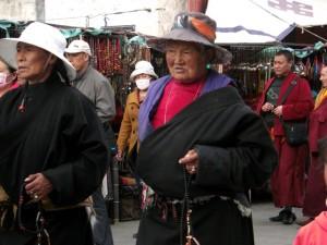 Gläubiger in Lhasa