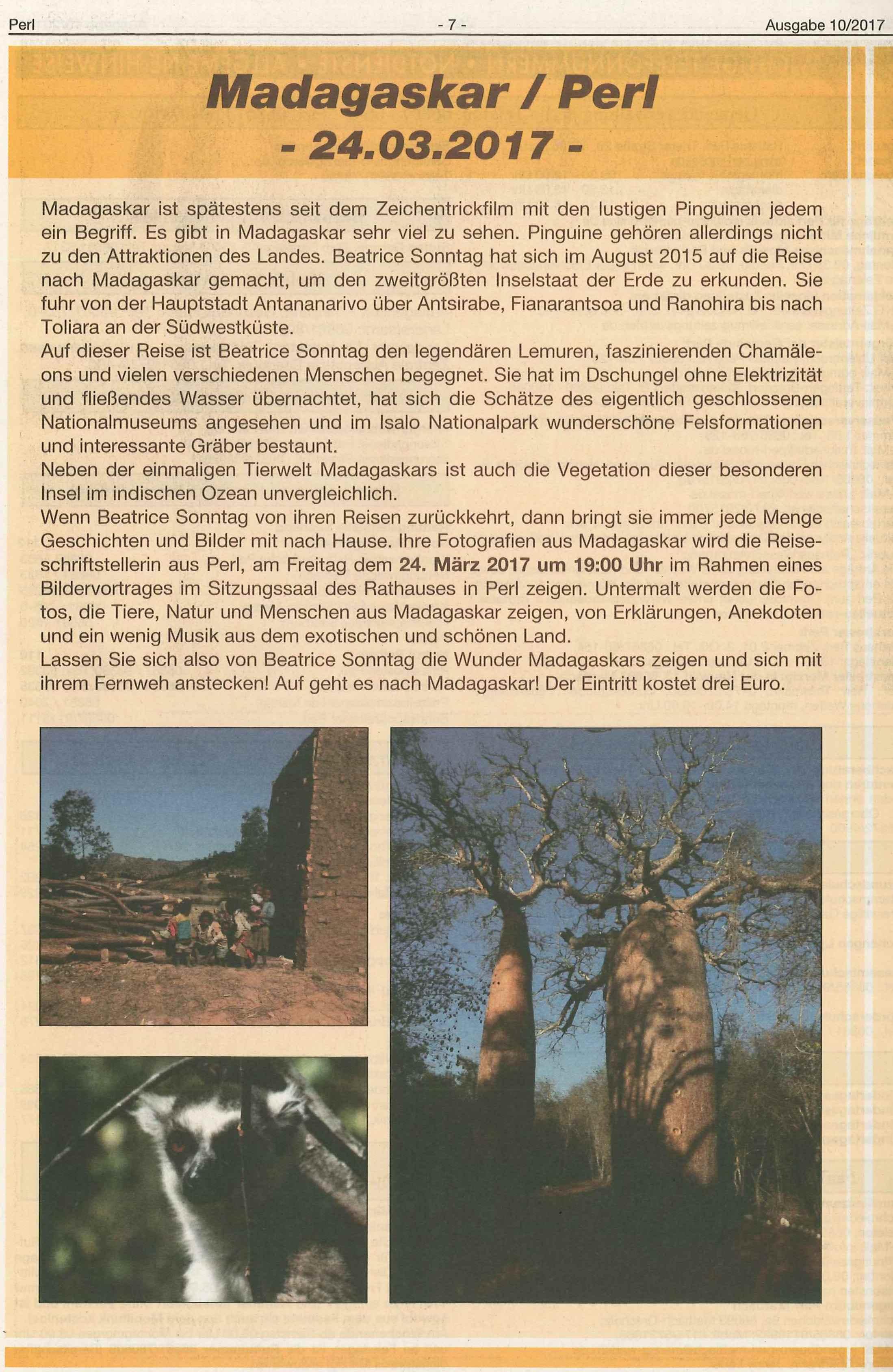 Madagaskar Mosella