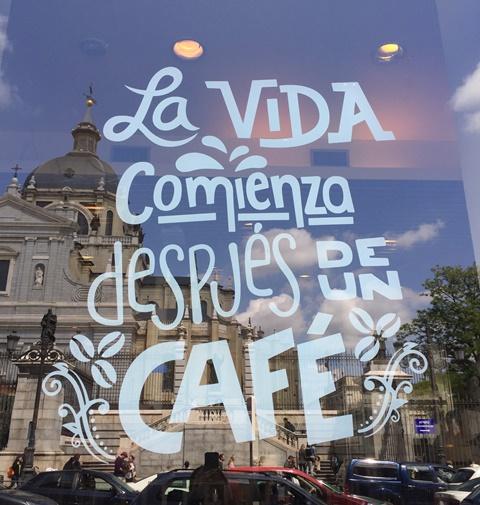 Madrid, Café