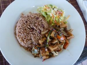 Reis mit Bohnen