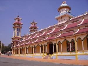 Caodai Tempel