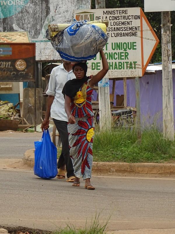 Abengourou Straßenszene
