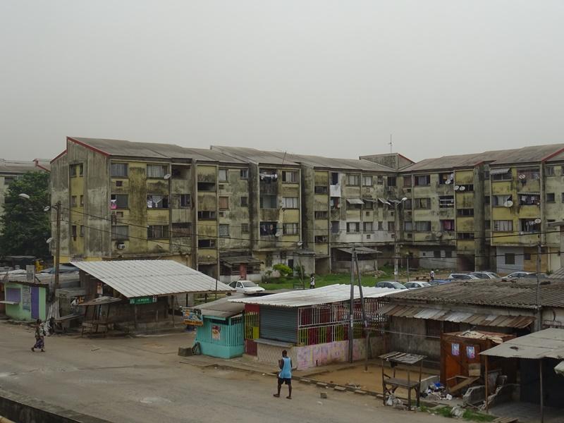 Abidjan Wohnviertel