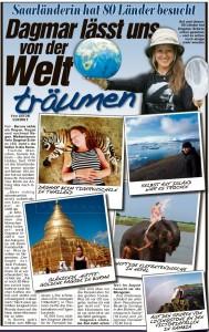 Reiseberichte bildzeitung Beatrice Sonntag