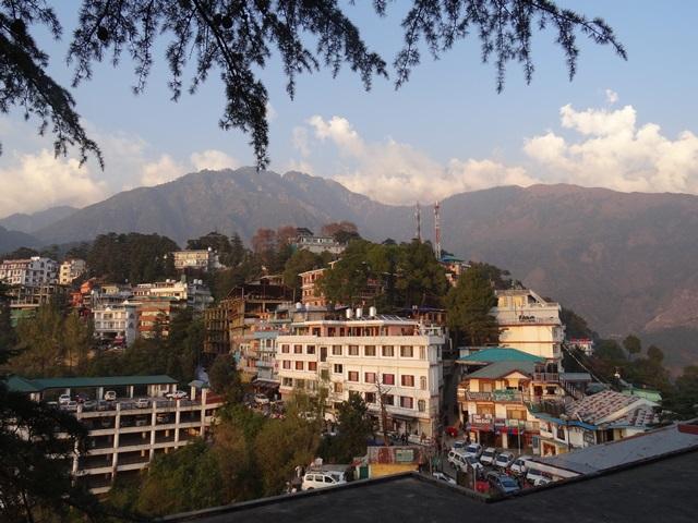 Blick auf Dharamsala