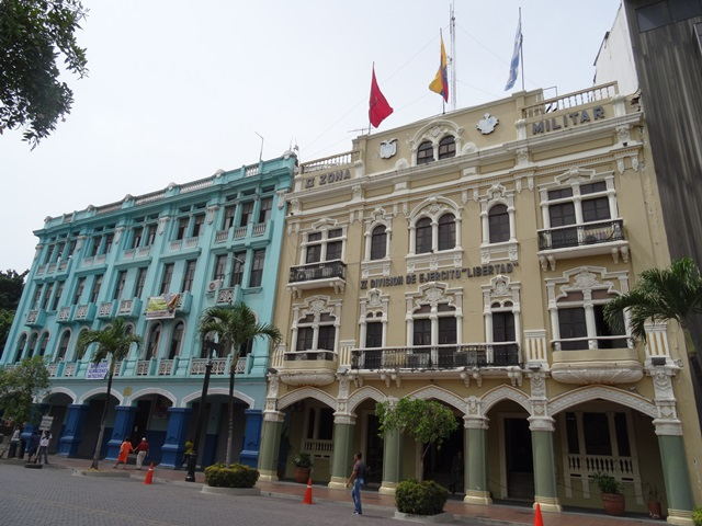 Guayaquil Kolonialbauten