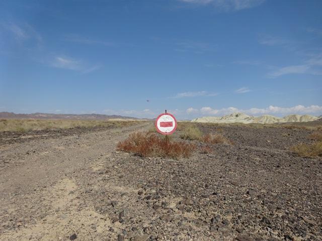 Einbahnstraße in Kasachstan