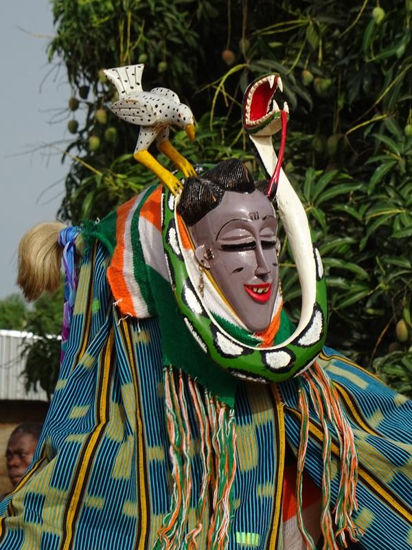 Maske aus Bouaflé