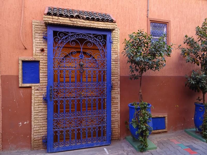 Tür in Marrakesch