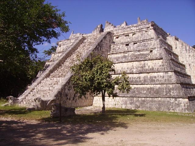 Mexiko, Mayaruinen