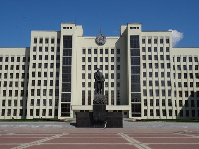 Lenin Denkmal, Minsk