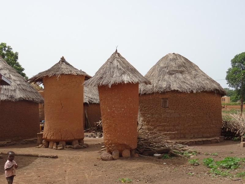 Senoufo Dorf