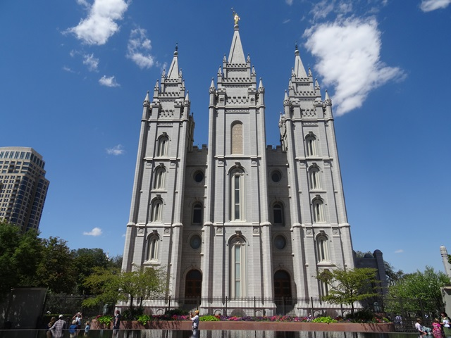 Salt Lake City Mormonentempel