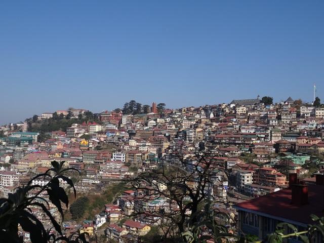 Shimla Altstadt