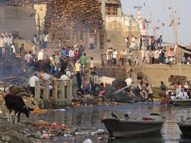 Marnikarnika Gath Varanasi